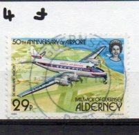 ALDERNEY  1985 Airport 29p Used - Alderney