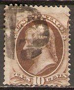ETATS - UNIS   -   1870 .  Y&T N° 44 Oblitéré. - 1847-99 General Issues