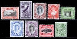 Tonga 1942-1949 MH Set SG 74/82 £65 - Tonga (...-1970)