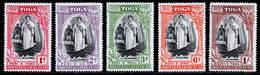 Tonga 1944 MNH Set SG 83/87 - Tonga (...-1970)