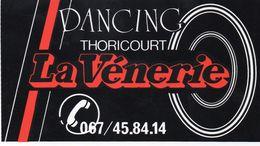 """BELGIQUE - Thoricourt - Dancing """"La Vénerie"""" - Autocollant - Autres"""