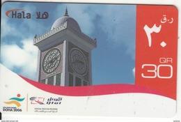QATAR - Clock Tower, Q-Tel Prepaid Card QR30, Exp.date 31/12/11, Used - Qatar