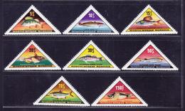MONGOLIE N°  271 à 278 ** MNH Neufs Sans Charnière, Poissons, TB  (D1913) - Mongolie