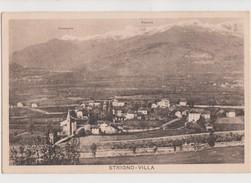 VALSUGANA STRIGNO-VILLA D'EPOCA,AMPIA VEDUTA PANORAMICA FORMATO PICCOLO - Trento