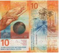 SWITZERLAND    Just Issued  New  10  Francs  (issued  10/17)   UNC - Switzerland