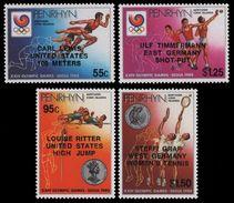 PENRHYN 1988 - J.O. Séoul 88, Vainqueurs, Tennis - 4 Val Neufs // Mnh - Penrhyn