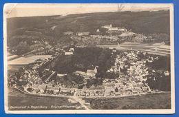 Deutschland; Donaustauf, Regensburg; Fliegeraufnahme; Walhalla; 1942 Stempel Lazarett Donaustauf - Regensburg