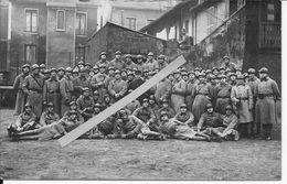 1920-1940 Groupe De Soldats Français Du 22ème Dragon GRDI Dragons Portés 1 Carte Photo Ww2 1939-1940 - War, Military