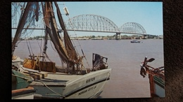 CPSM THE ATCHAFALAYA RIVER LOUISIANA PONT SUR MISSISSIPI - Other