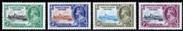 Turks & Caicos Islands 1935 Silver Jubilee MNH Set SG 187/190 Cat £8.5 - Turks & Caicos