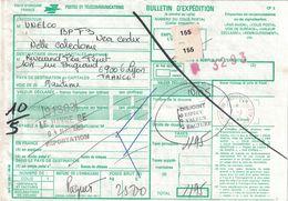 NOUVELLE-CALEDONIE - BULLETIN D'EXPEDITION COLIS POSTAL - CACHET NOUMEA MESSAGERIE POSTALE 1-3-1983 (P1) - Briefe U. Dokumente