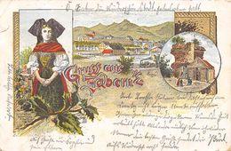 CPA 67 GRUSS AUS ZABERN  1905 - Saverne