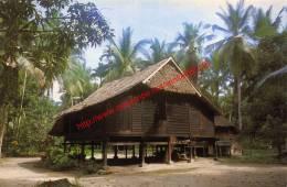 Typical Malay Kampong House - Malaysia - Malaysia