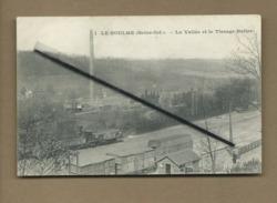 CPA - Le Houlme - ( Seine Inf.) - La Vallée Et Le Tissage Butler - Other Municipalities