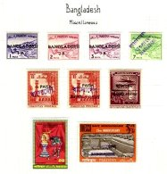 BANGLADESH, Local Handstamps, * MLH, F/VF - Bangladesh