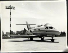 AVIATION PHOTO ORIGINALE D'UN AVION COMMERCIAL A DETERMINER - Aviación
