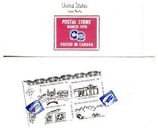UNITED STATES, Locals, */o M/U, F/VF - Locals & Carriers