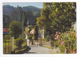 06 PEONE Vers Guillaumes N°3 Quartier LAPARRA Route De Valberg Draps étendus Au Balcon - France
