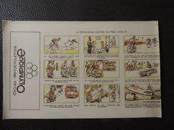 "BUVARD Neuf - CYCLES - MOTOCYCLETTES ""OLYMPIQUE"" - DUNLOP . - Bikes & Mopeds"