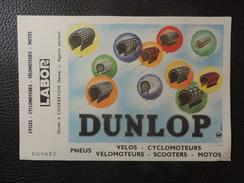 """BUVARD Neuf - CYCLES - CYCLOMOTEURS - """"LABOR"""" DUNLOP. - Bikes & Mopeds"""