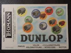 "BUVARD Neuf - CYCLES - CYCLOMOTEURS - ""THOMANN"" DUNLOP. - Bikes & Mopeds"