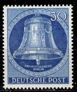D+ Berlin 1953 Mi 104 Mnh Glocke - Nuevos