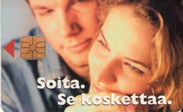 TARJETA TELEFONICA DE FINLANDIA. (TIRADA 10000) (466). - Finlandia