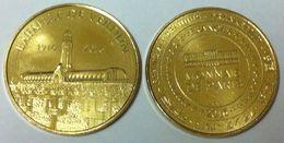 55 MEUSE DOUAUMONT LE MÉMORIAL BATAILLE DE VERDUN 1916 - 2016 MÉDAILLE MONNAIE DE PARIS 2016 JETON TOKEN MEDALS COINS - 2016