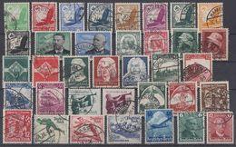 DR 36 Marken Aus 1933-1945 Gestempelt Lot 5 - Timbres