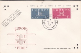 Ireland 1963 FDC Europa CEPT (T13-40) - Europa-CEPT