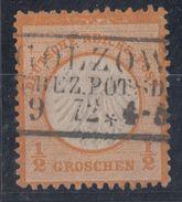 DR Minr.14 Plf. XII Gestempelt - Deutschland