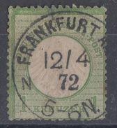 DR Minr.7 Gestempelt Frankfurt 12.4.72 - Oblitérés