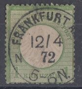 DR Minr.7 Gestempelt Frankfurt 12.4.72 - Gebraucht
