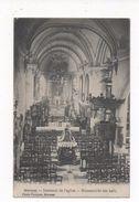 2170  MERXEM  -  BINNENZICHT DER KERK    ~  1915   FELDPOST  ANTWERPEN - Bélgica