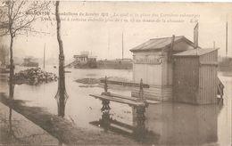 Charenton-inondations 1910-place Des Carrieres - Charenton Le Pont