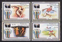PENRHYN 2000 - J.O. Sidney 2000, Sports Divers - 4 Val Neufs // Mnh // CV 20.00 - Penrhyn