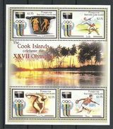 PENRHYN 2000 - J.O. Sidney 2000, Sports Divers - Feuillet Neufs // Mnh // CV 20.00 - Penrhyn
