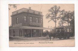 2170  MERXEM  -  HOTEL AUX QUATRE SAISONS    ~  1915   FELDPOST  ANTWERPEN  PFERDEBAHN - Other