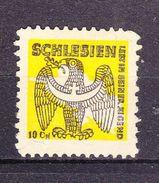 Gebuehrenmarke, Schlesien, 10 Pfg (43003) - Cachets Généralité