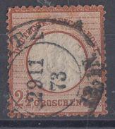 DR Minr.21gestempelt 29.11.73 - Deutschland