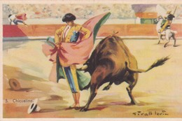 CHINCUELINA. CORRIDA. ILLUSTRATION, GIRALT LERIN. CIRCA 1920S SPAIN/L'ESPAGNE  - BLEUP - Corrida