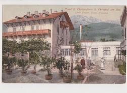 VALSUGANA D'EPOCA HOTEL S CRISTOFORO S CHRISTOF AM SEE LINIE TRIENT TEZZE VENEDIG - Trento