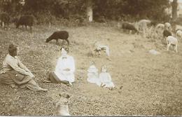 ** RARE** Carte-photo De 1912 De Mme Murilanel, Moriche Et Le Nanet à Sayat - France
