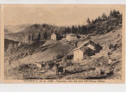 VALSUGANA D'EPOCA VETRIOLO PANORAMICA DALL'ALBERGO MILANO ANNO 1934 FORMATO PICC - Trento