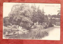 Mondorf-les-Bains, Park, Per Feldpost Nach Mennighueffen 1914 (43007) - Mondorf-les-Bains