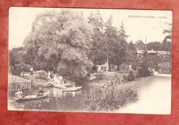 Mondorf-les-Bains, Park, Per Feldpost Nach Mennighueffen 1914 (43007) - Bad Mondorf