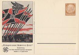 DR Privat-GS Minr.PP122 C105 Postfrisch Zeugen Aus Schwerer Zeit Ausstellung Kassel 1939 - Deutschland