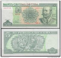 2016-BK-2 CUBA 5$ 2016 ANTONIO MACEO. UNC. - Kuba