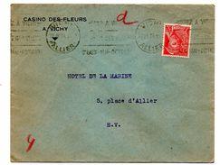 Enveloppe Casino Des Fleurs Vichy 1939 - Vieux Papiers
