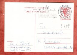 P 141 Grossherzogin Charlotte, MS Ken Dreck An D Waesser Luxembourg Ville, Nach Duesseldorf 1965 (43012) - Ganzsachen